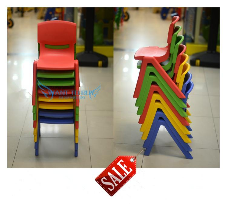 Kids Plastic School Classroom Nursery Chair Children Study Chair