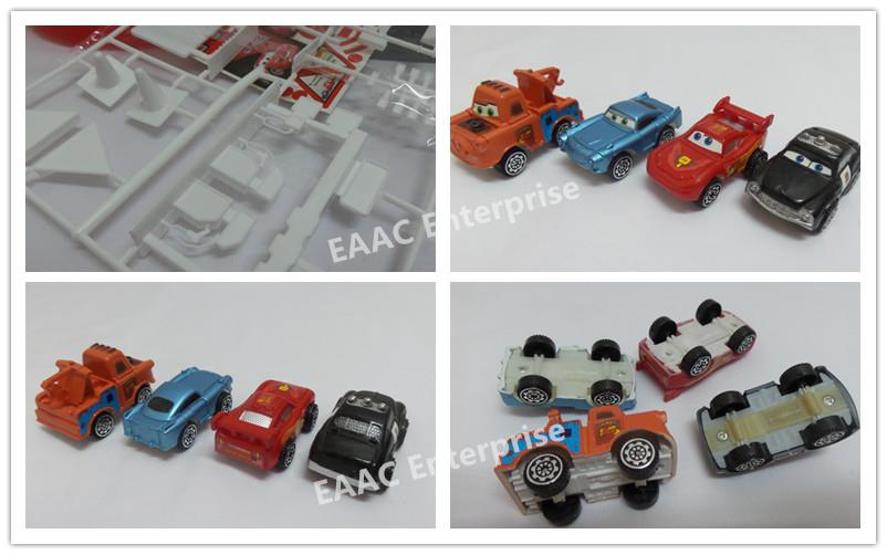 Kids Play & Learn Sports CARS series Parking Garage Track - 4pcs Cars