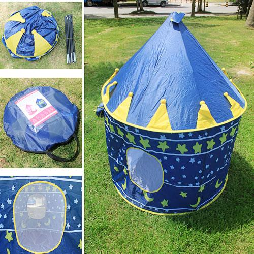 NEW KIDS PORTABLE CASTLE PLAY TENT BLUE CHOOSE  sc 1 st  Lelong.my & NEW KIDS PORTABLE CASTLE PLAY TENT: (end 6/27/2017 2:07 PM)