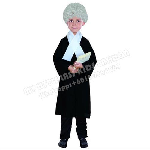 e3295e1ae4917 Kids Role Play Costume Occupation Lawyer 4-8y