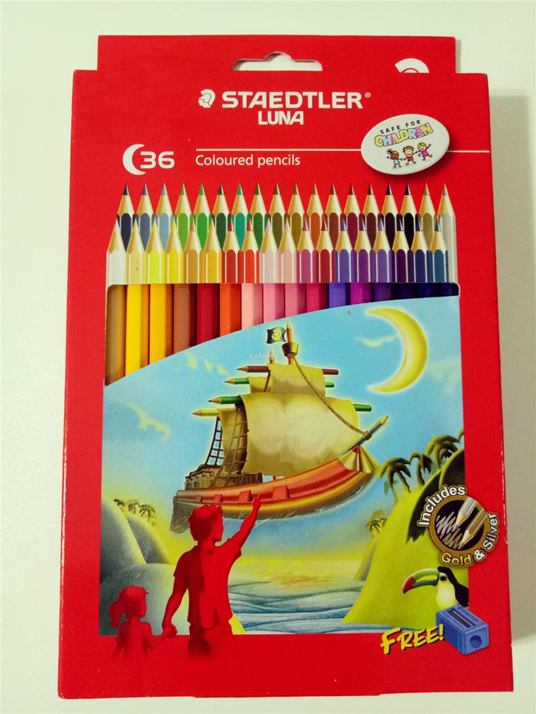 Kids School STAEDTLER LUNA 36 Colour (end 4/27/2019 5:13 PM)