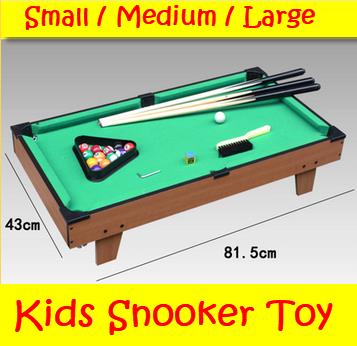 Kids Snooker / Pool Table Board Games (HG201D)
