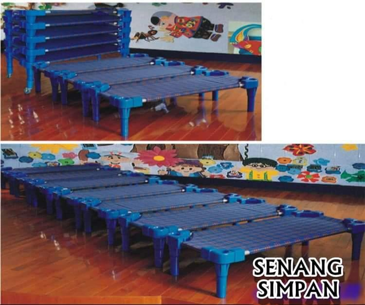 KIDS STACKABLE PLASTIC BED [FREE SHIPPING SM]