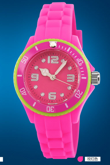 Kids Stylist SKMEI Quartz Watch Watches SKM1036 Rose