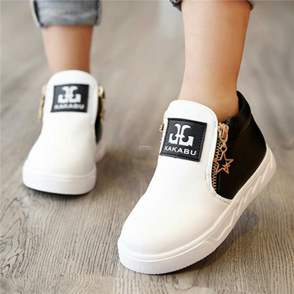 Kids Toddler Casual Shoes Boy Girl Fashion Boots