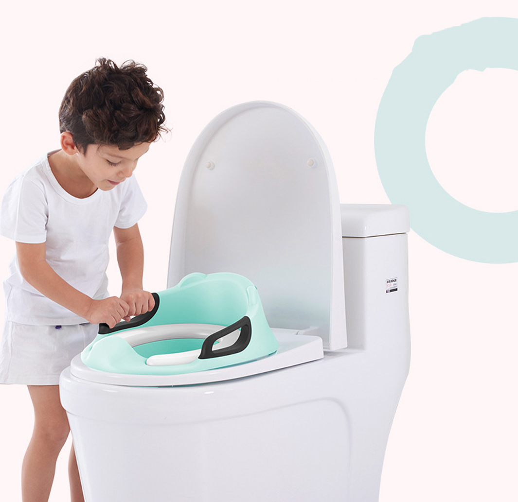 Kids Toilet Seat Cover Plastic Portable Infant Potty Chair