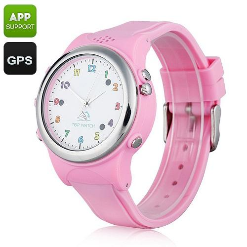 Kids Watch Phone With GPS Tracker With SOS (WGPS-12B).