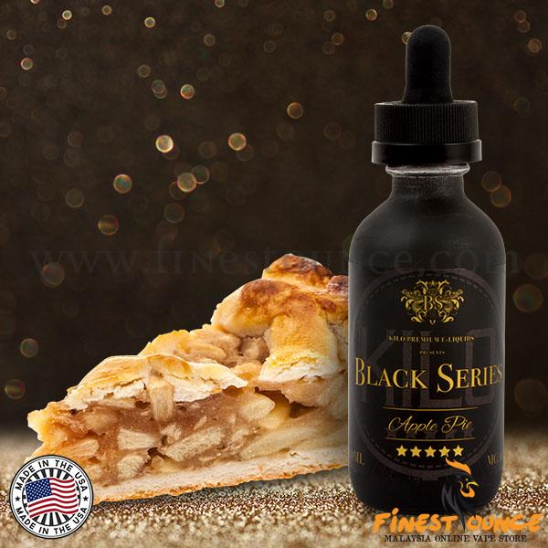 KILO Black Series - Apple Pie 60ml (e-liquid e-juice) Vape **Genuine