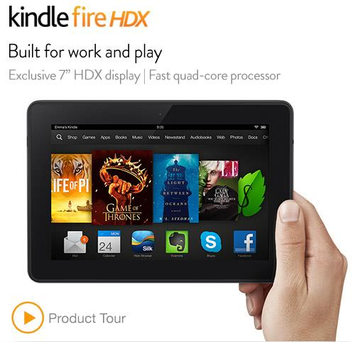 All New Kindle Fire 7 inch HDX 16GB LTE  (New Promo Price)
