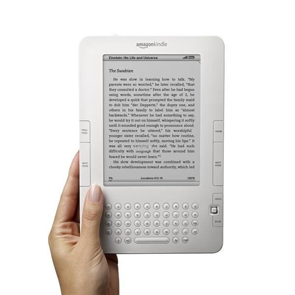Kindle Wireless Reading Device Free 3G (White)
