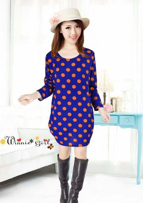 King Size Loose Long Sleeve Long Blouse (4)