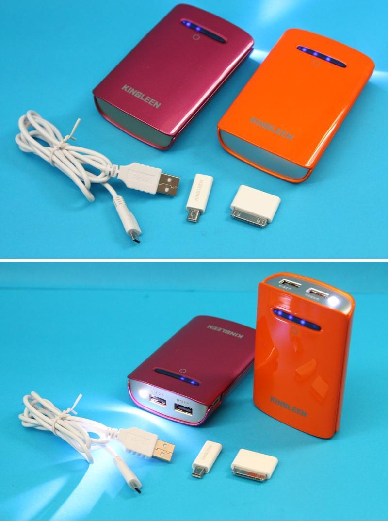 KINGLEEN Quick Portable Power Bank / Phone Charger