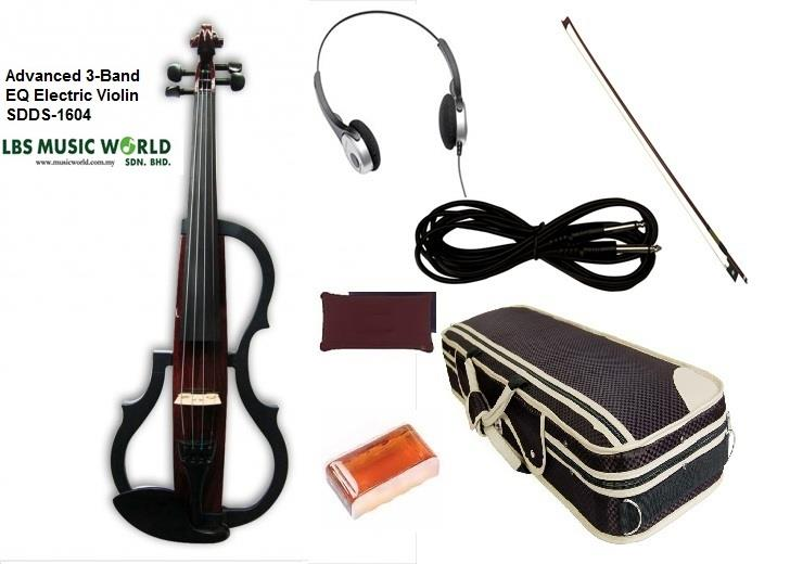 KINGLOS SDDS1604 ADVANCE ELECTRIC VIOLIN
