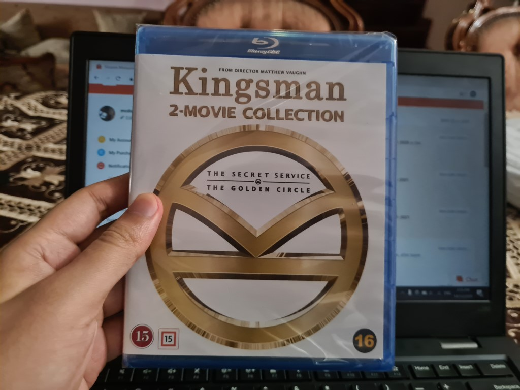 KINGSMAN 1-2 COMPLETE BLU RAY SET ORIGINAL NEW IMPORTED REGION FREE