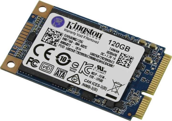 Kingston 120GB UV500 Series mSATA - SUV500MS/120G
