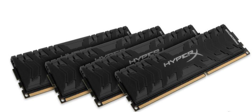 Kingston 16GB 3000MHz DDR4 CL15 4x4GB HyperX Predator HX430C15PB3K4/16