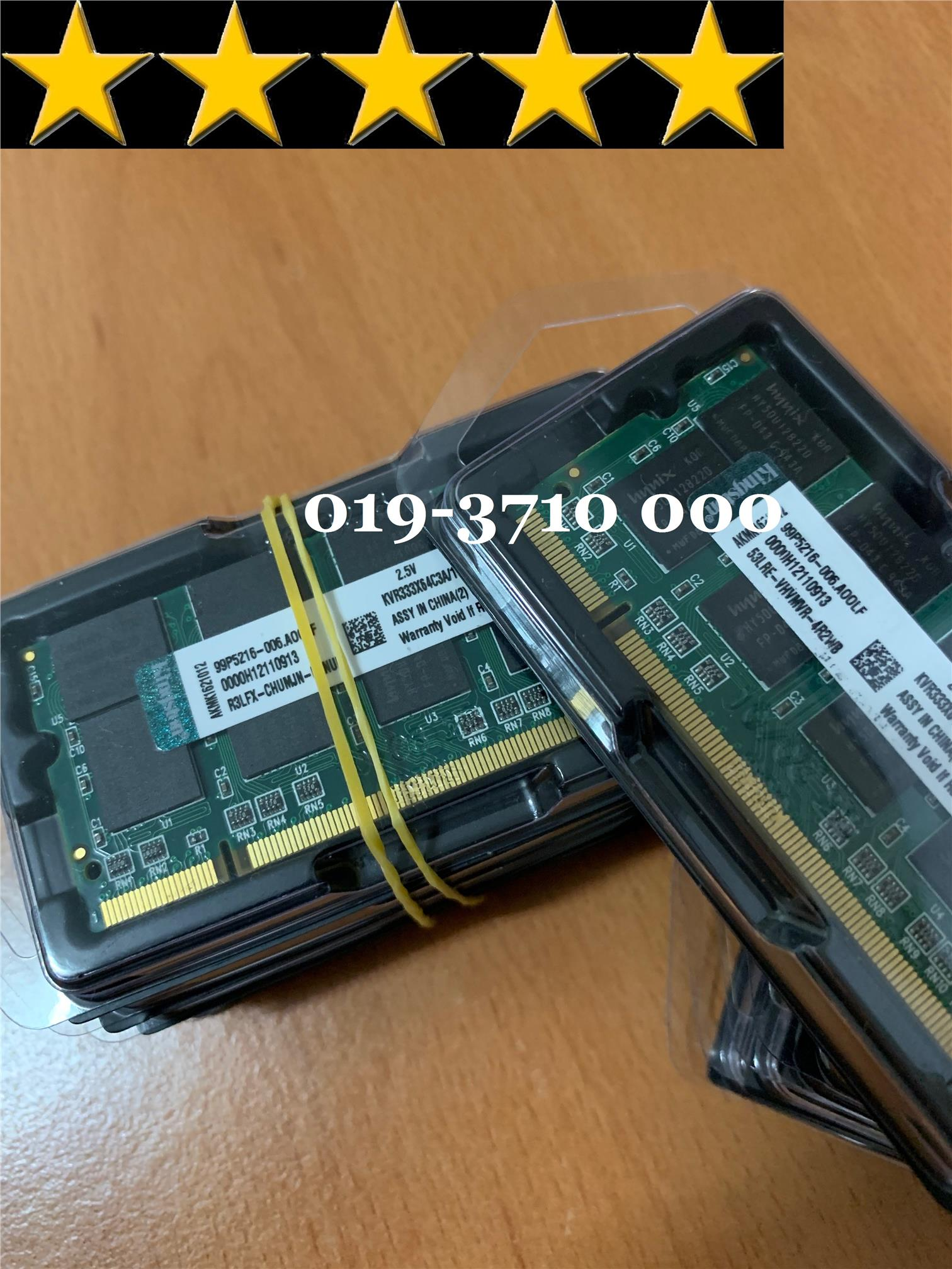 Kingston 1GB DDR1 NoteBook Ram SODIMM (Brand New)