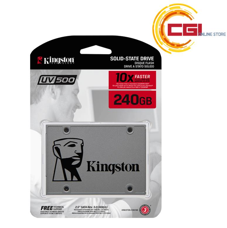 Kingston 240GB UV500 SSD (SUV500/240G)