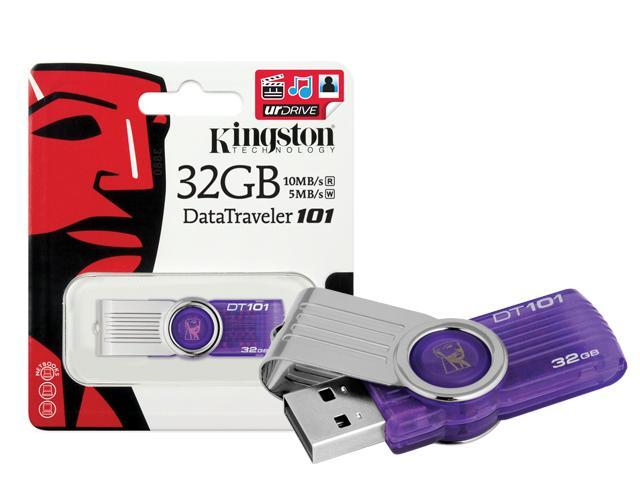 KINGSTON 32GB Pendrive DT101G2/32GB USB2.0 Thumb Flash Drive
