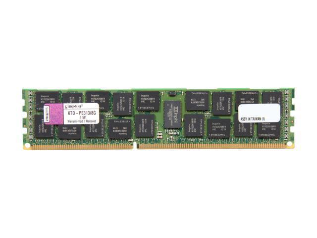 Kingston 8GB 1333MHz DDR3 ECC Module - KTD-PE313E/8G