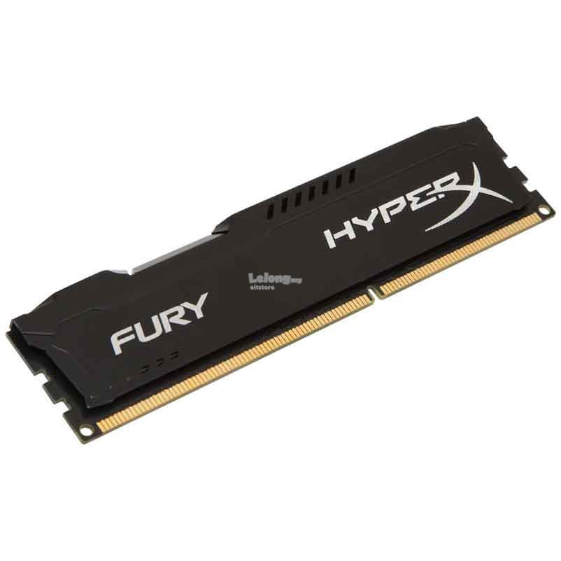 Kingston 8GB HyperX Fury 1866MHz DDR3 Gaming PC RAM (HX318C10FB/8)