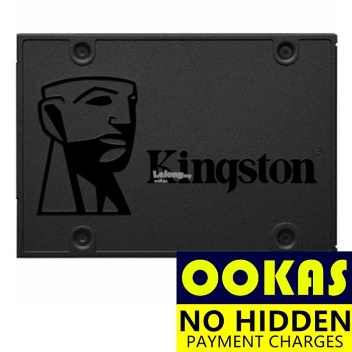 KINGSTON A400 Max.R:500MB/s W:450MB/s SSD 120GB / 240GB / 480GB Solid