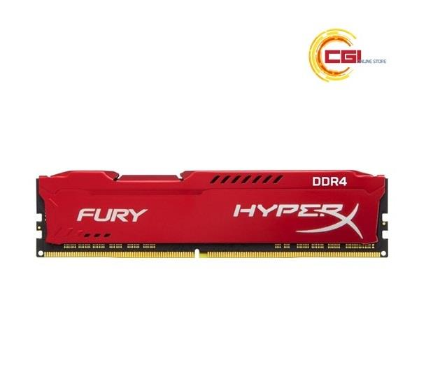 Kingston HyperX FURY 16GB 3200MHz DDR4 CL18 DIMM - Red (HX432C18FR/16)