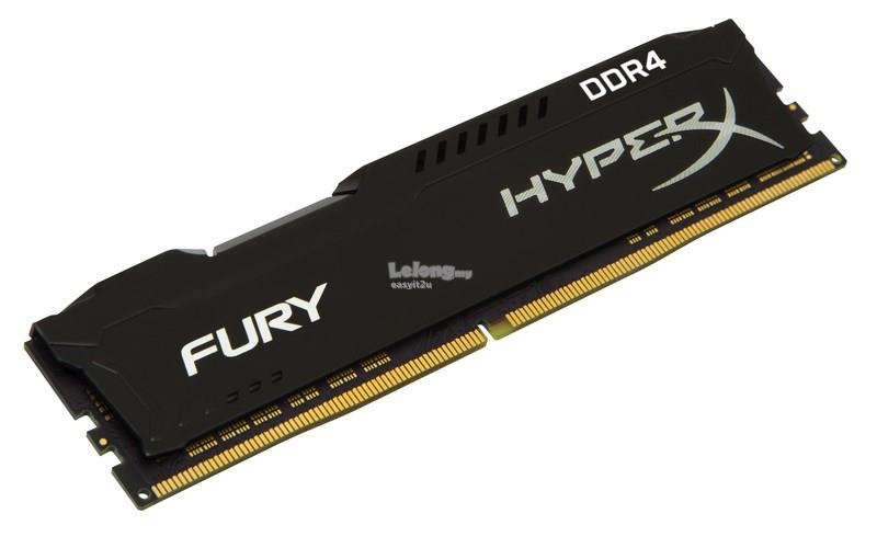 KINGSTON HYPERX FURY BLACK 8GB DDR4 3466MHZ (HX434C19FB2/8)