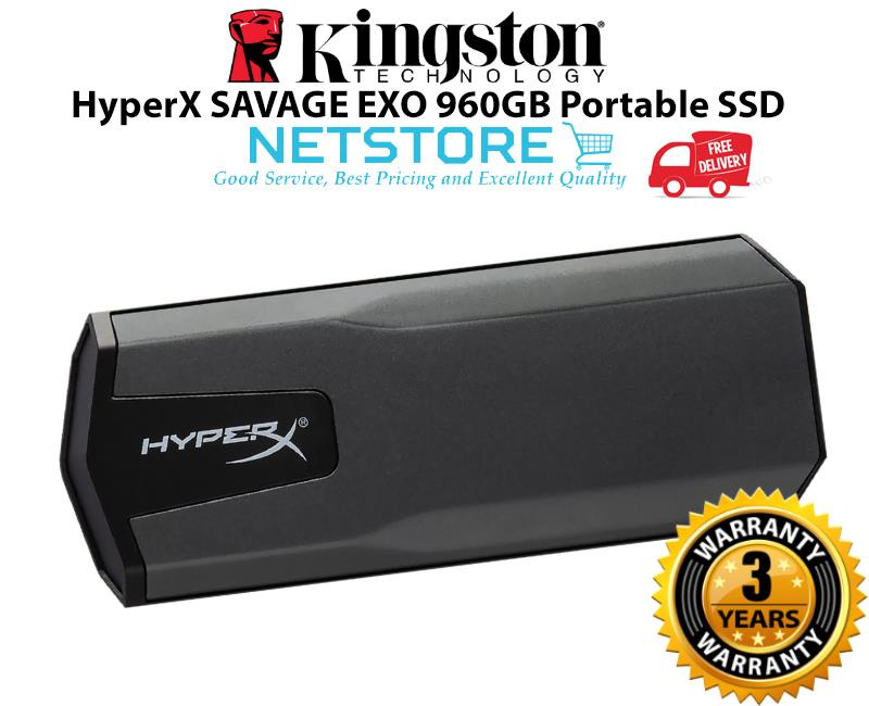 Kingston HyperX SAVAGE EXO 960GB Portable SSD SHSX100/960G