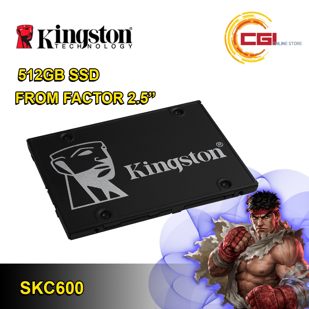 Kingston KC600 512GB 2.5 ' SATA Internal SSD (SKC600/512G)