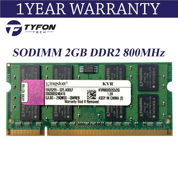 512MB 2X256MB DDR2 MEMORY RAM PC2-6400 SODIMM 200-PIN