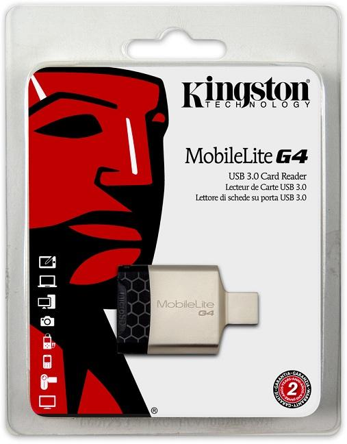 KINGSTON MOBILELITE G4 USB3.0 CARD READER, FCR-MLG4