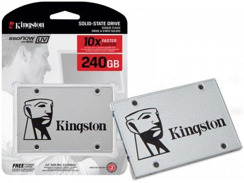 "Kingston SSDNow UV400 120GB 240GB Sata3 2.5"" 6Gb/s SSD suv400s37"