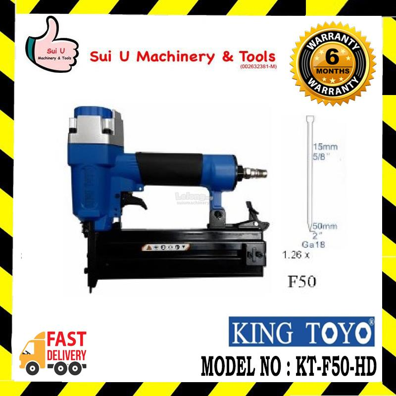 KINGTOYO KT-F50-HD Air Nailer/Stapler 15-50mm