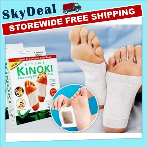 Kinoki Detox Herbal Foot Pad Cleansi End 1122018 429 Pm