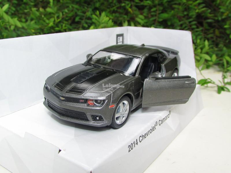 Kinsmart 5' (1/38) Die Cast Metal 2014 Chevrolet Camaro (Grey)
