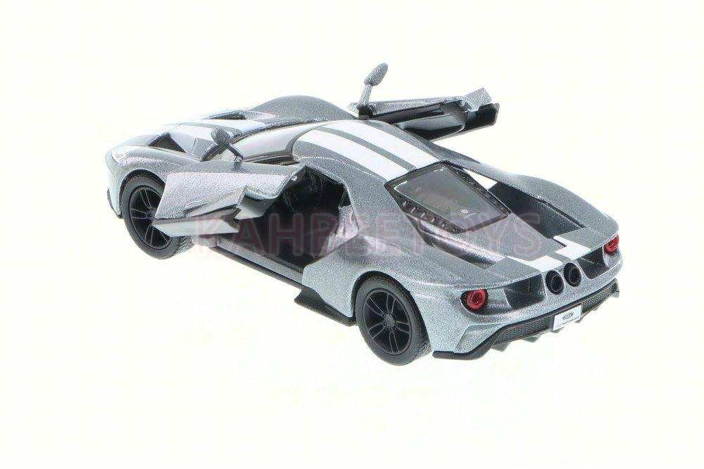 Kinsmart Cast 2017 Ford Gt 1 38 Grey