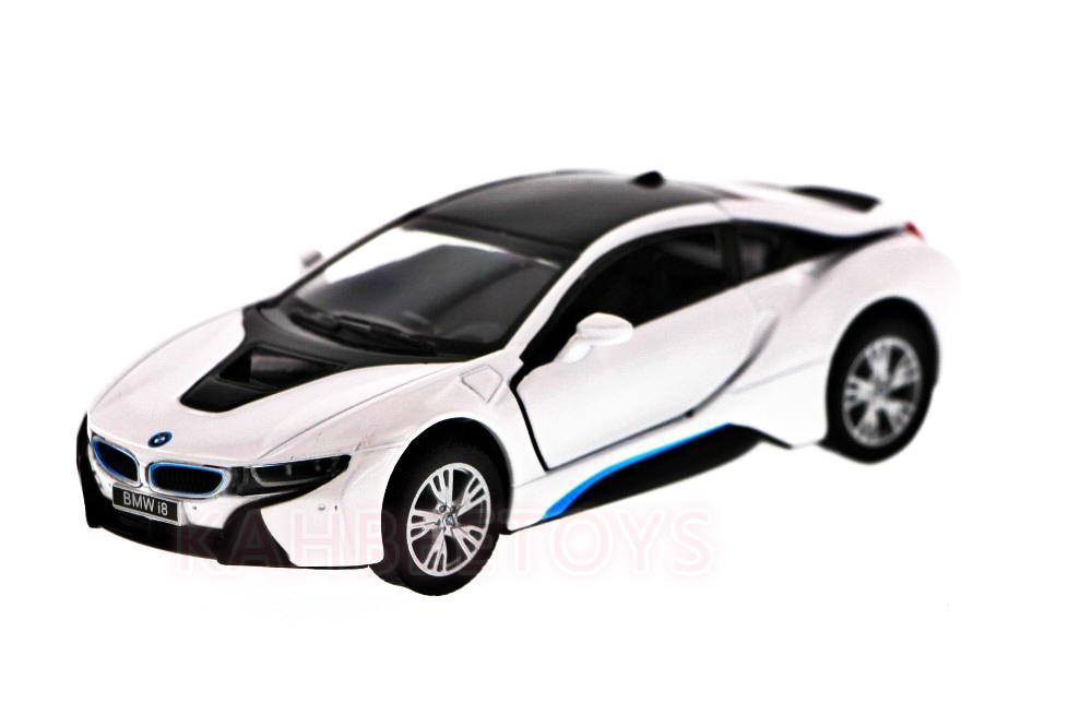 KINSMART DIECAST BMW I8 136 WHITE