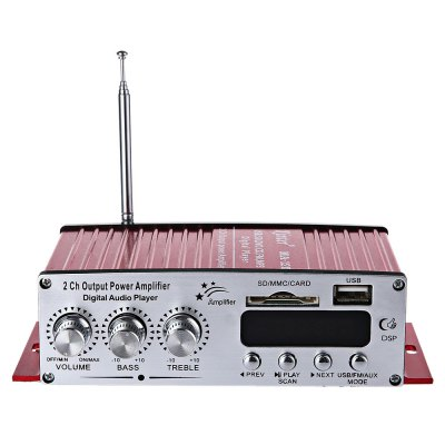 Kinter MA - 120 12V HiFi Audio Amplifier Support FM SD USB Input