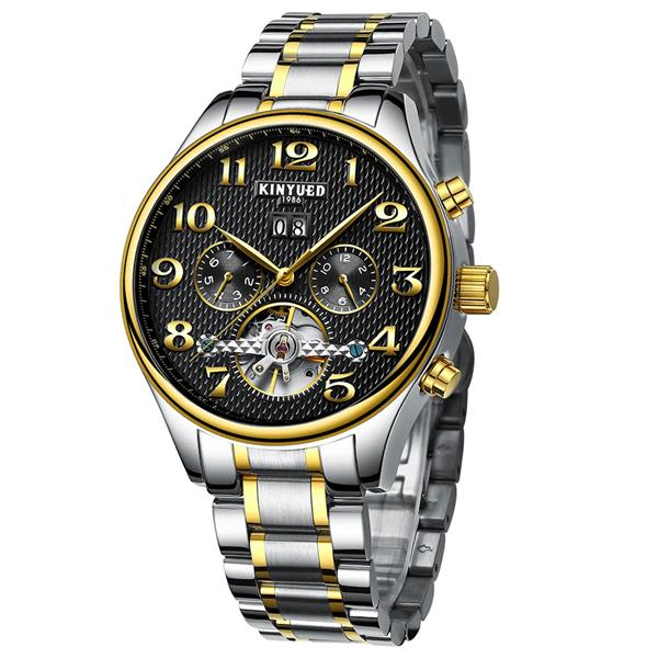 KINYUED Business Watch Automatic Mechanical Watches