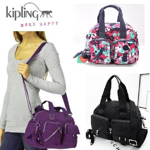 Kipling Handbag Cross Body Bag Travel Waterproof Nylon S