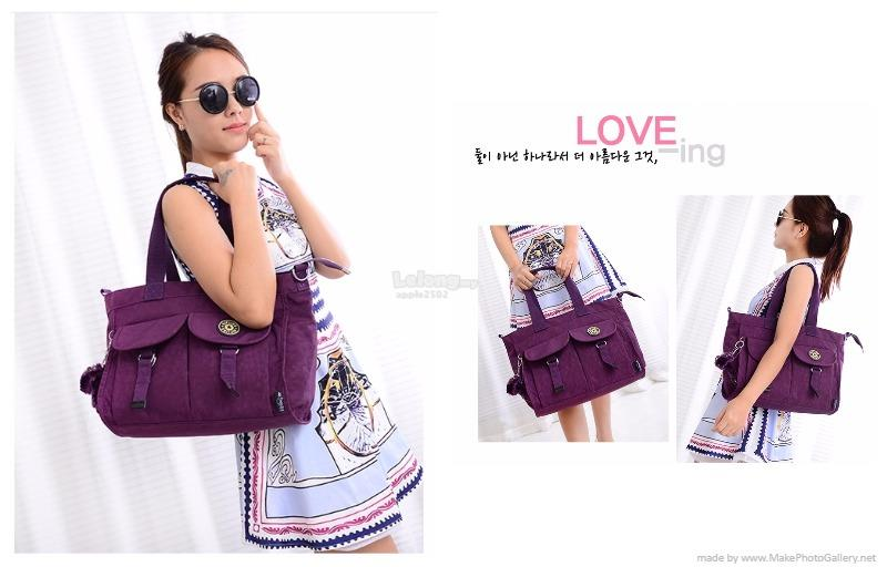 KIPLING NYLON COLOUR SHOULDER BAG*MLC8817(PRE-ORDER)