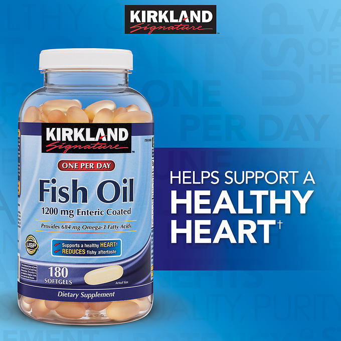 Kirkland Signature Fish Oil 1200 End 3 26 2019 12 35 Pm
