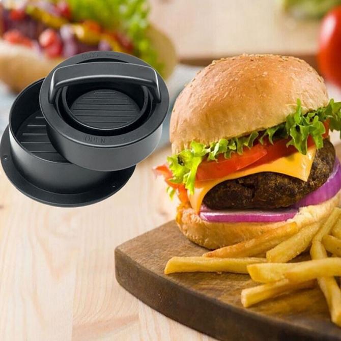 new kitchen gadgets hamburger pressure meat device non stick - New Kitchen Gadgets