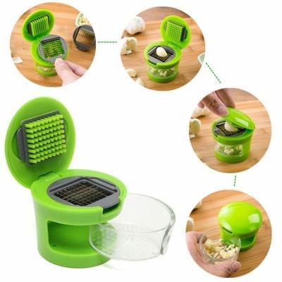 Kitchen Gadgets Handle Garlic Chopper Crusher