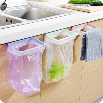 kitchen hanging garbage bag holder plastic trash bag organizer rack - Trash Bag Holder