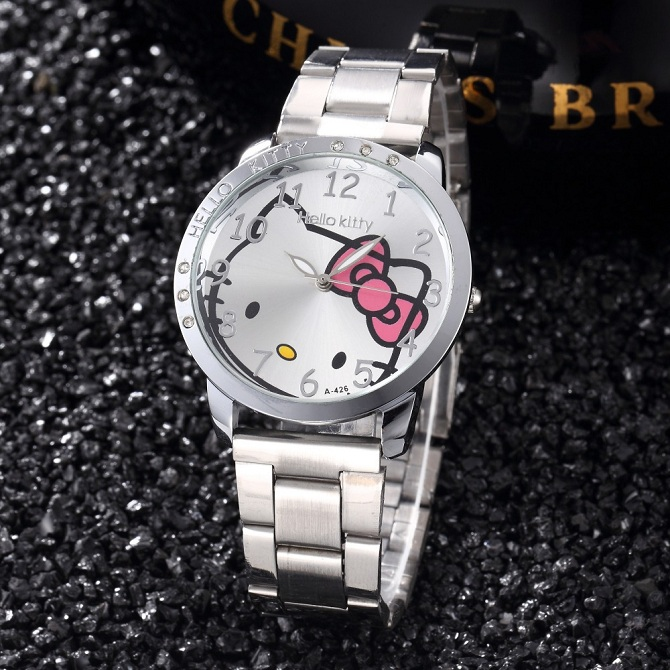 8257058e3 New Kitty Simple Ladies Casual Watch (end 5/3/2021 12:00 AM)