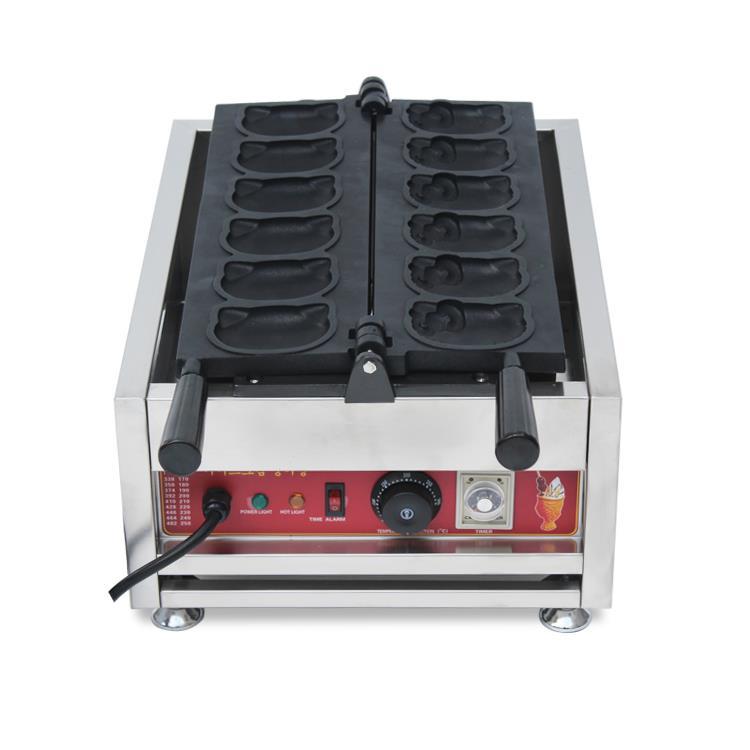 Kitty Waffle Maker Machine Premium