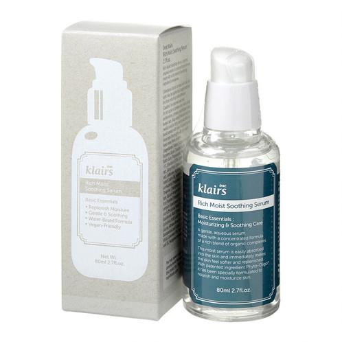 Klairs, Rich Moist Soothing Serum (80 ml) (Made in Korea)