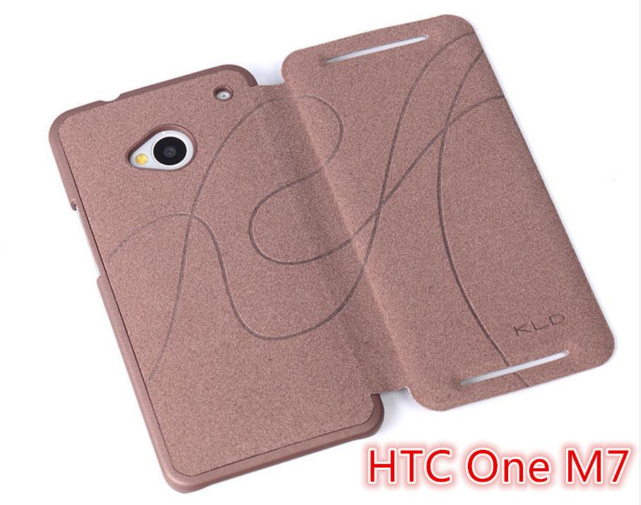 KLD HTC One M7 801e Oscar Series Flip Case Cover + Free Gift